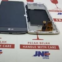 LCD LG G3 STYLUS D690 FULLSET TOUCHSCREEN FREM ORIGINAL CC Cell