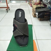 Termurah Sandal kulit Merk Bata warna hitam