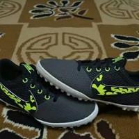 Sepatu Futsal Anak Nike JR Elastico Pro III TF Black - Volt Original
