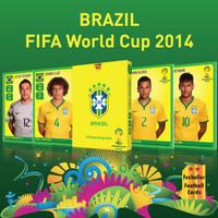 Kartu Bola Fezballer Cards - Brazil World Cup 2014