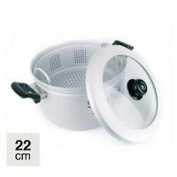 Maspion Steamer Rice Cooker Panci Kukus Diameter 22 Cm Diskon