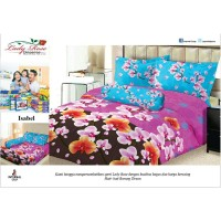 Bed Cover Set Sprei Lady Rose Size King Isabel Murah