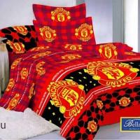 Belladona - Bed Cover Single Manchester United Murah