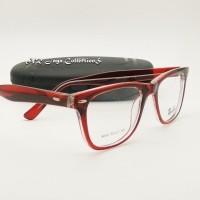 MURAH Promo Frame Kacamata Vintage Way farer Terbaru Gratis Lensa min