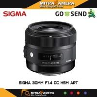 JUAL Sigma 30mm F1 4 DC HSM Art MKA