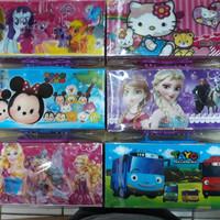 Tempat Pensil Kode 3 Dimensi Tayo, Hello Kitty, Tsum2, Frozen, Pony