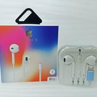 Handsfree Earphone headset Iphone 7 8 plus X Original
