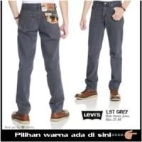 celana jeans levis 505. reguler/standar/besic warna abu Berkualitas