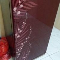 Kulkas sharp 1 pintu bekas / second new
