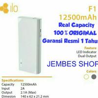 Jual Hippo Powerbank ilo F1 12.500mah Real Capacity 100% ORIGINAL (Promo) Murah