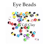 Eye Beads 8mm - Mata Clay - Aksesoris Gelang