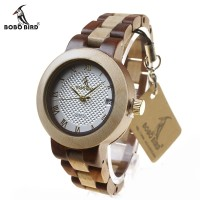 Jam Tangan Wanita Kayu / Wooden Watch BOBO BIRD M19