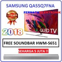 Samsung 55Q7FNA 55 Inch Qled UHD 4K Smart Flat LED TV 55Q7F 55Q7FN