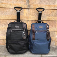 Tas TUMI Grade ORI Trolly Voyageur Backpack 2 in 1 Ransel Mirror