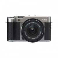Harga fujifilm x a5 mirrorless digital camera with 15 45mm dark silver | Pembandingharga.com