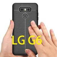 LG G6 - SPIGEN LIKE Autofocus Leather Carbon Fiber Case