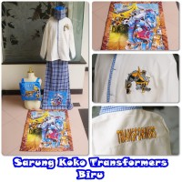 Baju Koko Anak Transformer