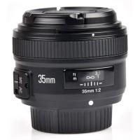 Lensa Wide Nikon YONGNUO 35mm F/2 Lens Wide Angle AF MF Murah