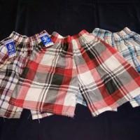 celana anak kotak-kotak grosir celana anak murah