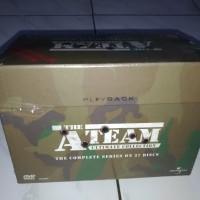 DVD Original The A-Team 27 Disc Complete TV Serial Jadul Langka