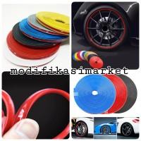 universal velg wheel rim protector lis velg karet 5 warna