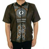 Supplier fashion muslim pria baju koko bordir modern gamis cowok 13