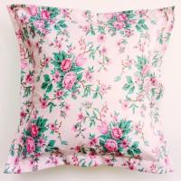 Sarung Bantal Sofa /Kursi 40x40 cm Elsa Pink
