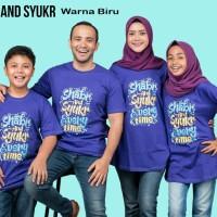 Paket 2 Kaos Couple Ayah Bunda - Baju Muslim Keluarga Paket