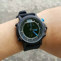 Jam tangan pria, puma rubber, double time, water resist, kw super