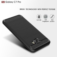 Dijual Samsung C7 C9 Pro Spigen Like Cover Softcase Carbon Hp Case