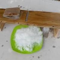 Papan kayu serutan es kepal alat serut ice shaver crusher penghancur