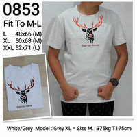 Baju korea pria kaos import tshirt branded dewasa 0853