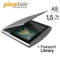 scanner plustek OpticSlim 550 Plus + passport library - A5 - 1,5 dtk