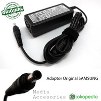 Adaptor Charger casan Original Samsung Netbook 19V 2.15A (PIN)