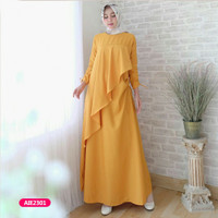 Gamis wanita muslim dress luqiana