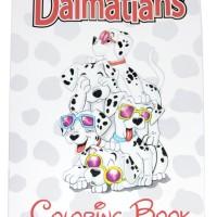 CB007 Buku Impor Mewarnai Coloring Book Ukuran Besar Disney Dalmatian
