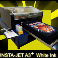 Printer DTG Instajet A3+ White Ink, Garansi 12 bulan Support Terjamin