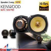 Harga kenwood kfc xs1703 hi res audio speaker 2 way new | Pembandingharga.com
