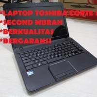 Laptop Toshiba core i7 second berkualitas bergaransi