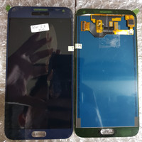 LCD 1SET SAMSUNG E700 E700H GALAXY E7 ORIGINAL OEM BLUE