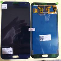 LCD 1SET SAMSUNG E700 E700H GALAXY E7 ORIGINAL BLUE BISA KONTRAS