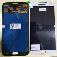 LCD 1SET SAMSUNG E700 E700H GALAXY E7 ORIGINAL WHITE BISA KONTRAS