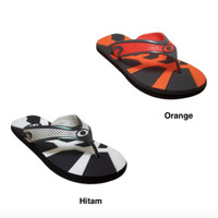 Sendal Jepit Sandal Jepit Pria NEW ERA CSA Ecosport Kuning Size 40 41