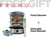 Jual RH FOOD STEAMER FREE EXPLORE HAND BLENDER Murah