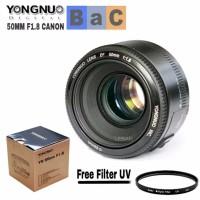 Jual Lensa Yongnuo 50mm f1 8 Canon fix 50mm f1 8 yongnuo YN 50mm f1 8 PRO Murah