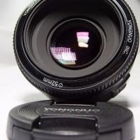 Jual Lensa Yongnuo YN 50mm F1 8 for Canon EOS PROMO BULAN INI Murah