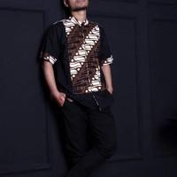 Kemeja Koko/ Baju Koko Sajjad - Farras Batik Series