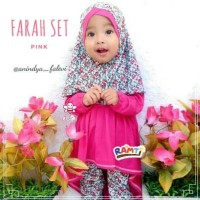 gamis anak bayi l baju branded surabaya l farah