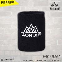 AONIJIE - SPORT WRISTBAND POLYSTER BLACK