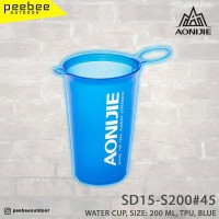 AONIJIE - WATER CUP SIZE 200 ML TPU BLUE